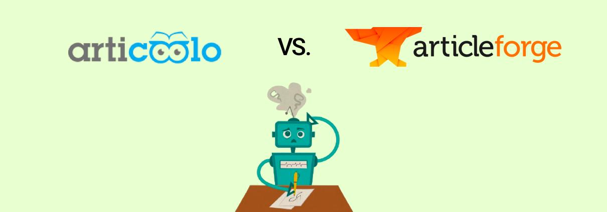 Articoolo vs. Article Forge Comparison